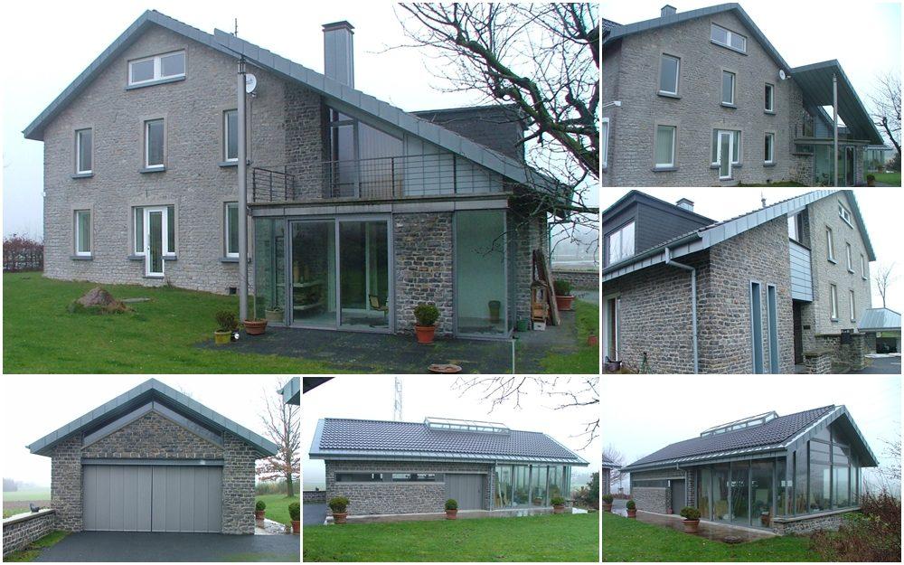 Umbau eines Einfamilienhauses mit Atelier