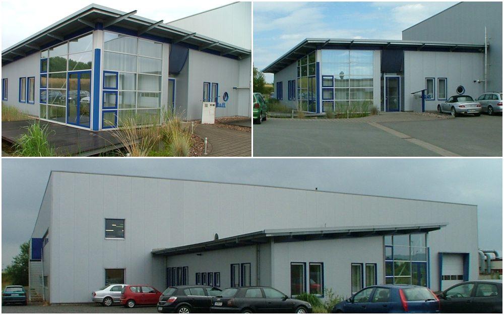 Neubau eines Verwaltungsgebäudes mit Logistikzentrum