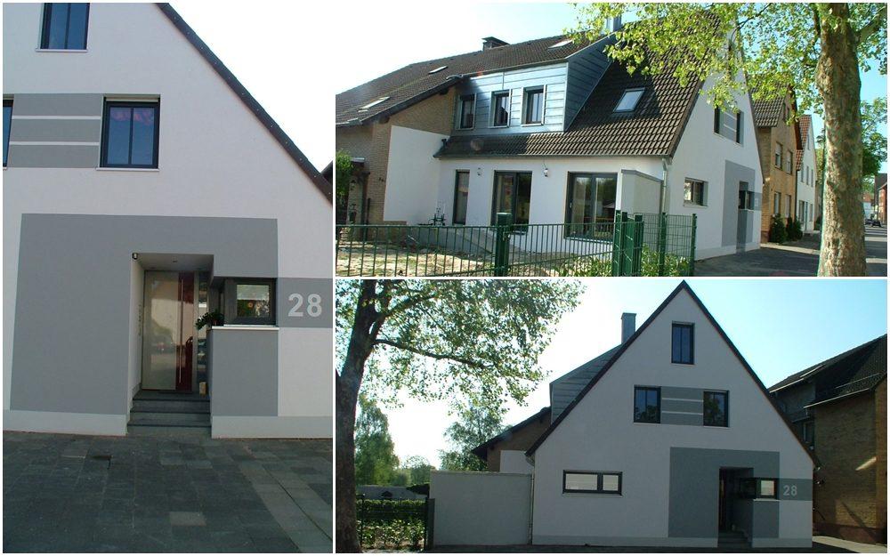Umbau und Modernisierung eines Einfamilienhauses