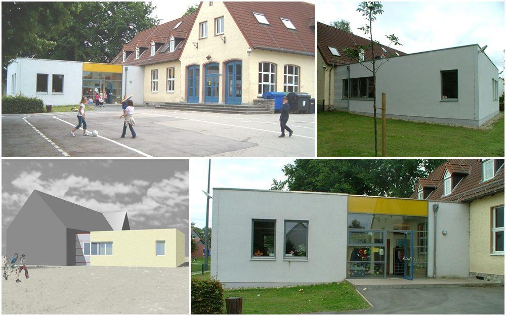 Modernisierung und Erweiterung eines Schulgebäudes