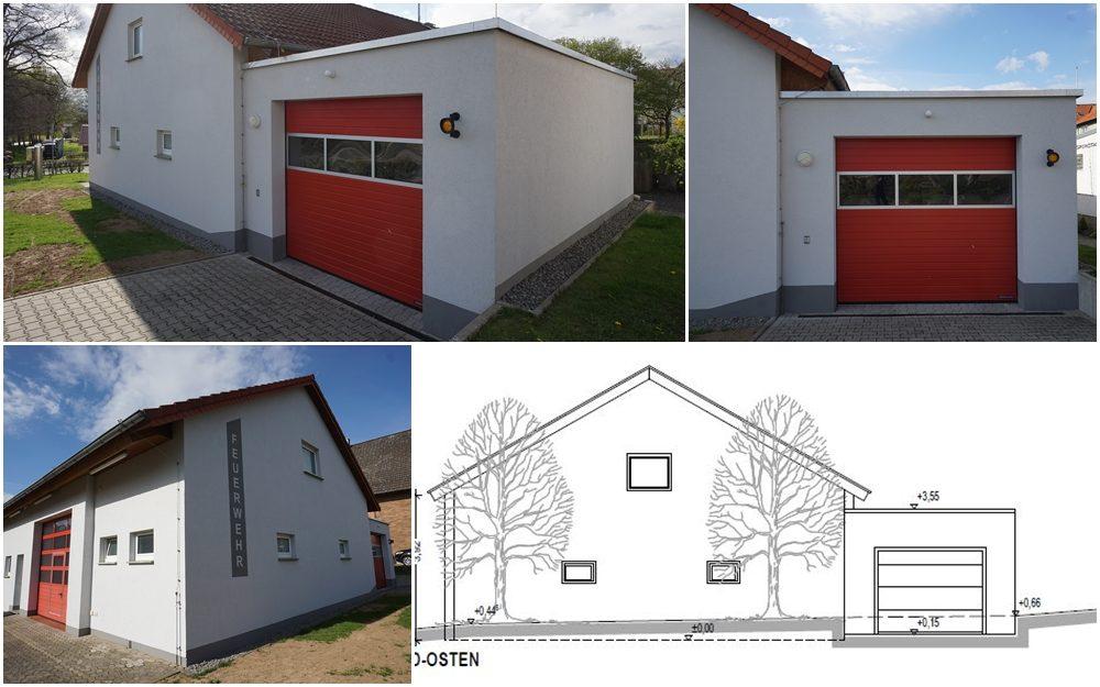 Feuerwehrgerätehaus FFW Steinheim - LG Rolfzen
