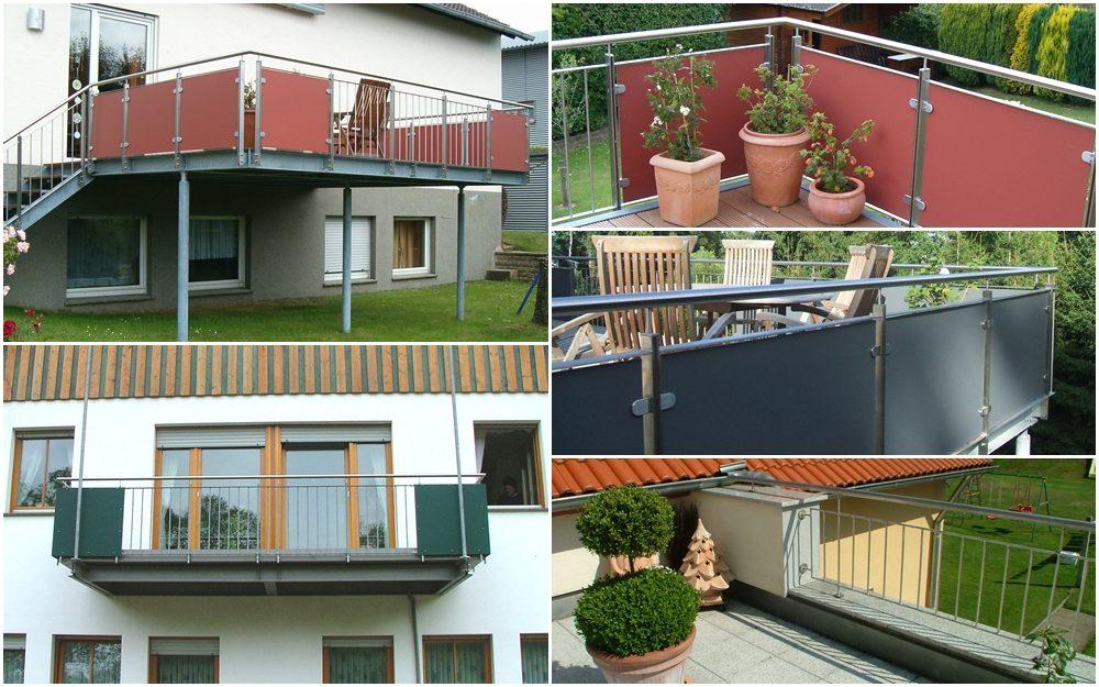 Terrassen und Balkone
