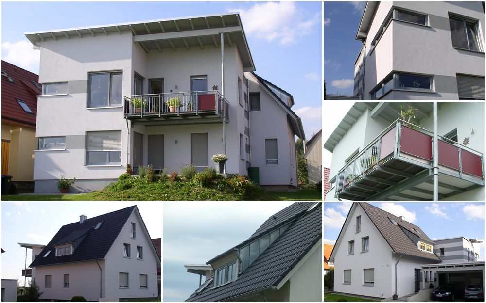 Erweiterung zum Zweifamilienhaus mit barrierefreiem Wohnen
