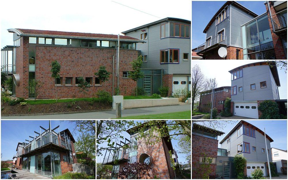 Neubau eines Wohnhauses mit Einliegerwohnung und Büro
