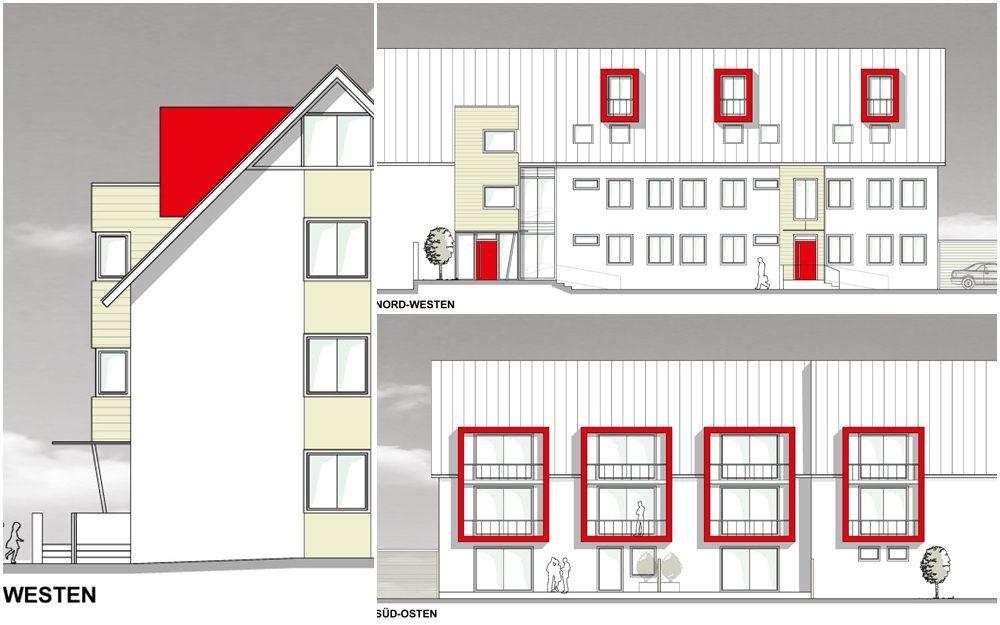 Sanierung eines Mehrfamilienhauses (Planung)