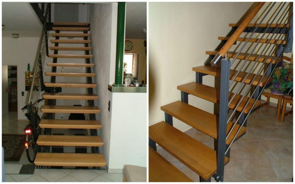 Holzkonstruktion mit Stahlunterbau
