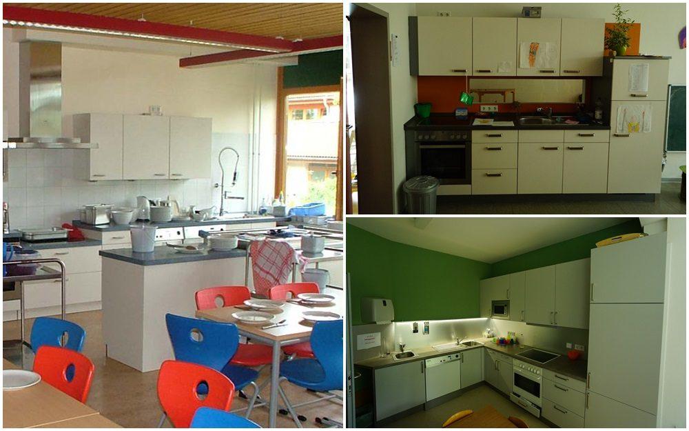 Küchen in KITAs und Schulen
